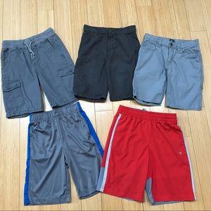 BOYS shorts bundle, sz M 8. Gap, Gymboree +